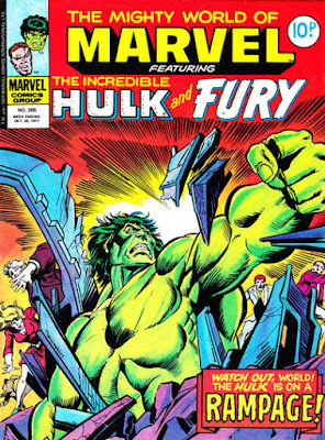 Mighty World of Marvel #265, Hulk
