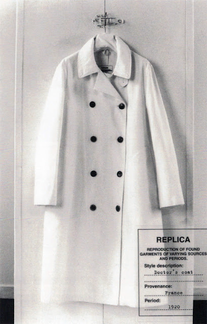 Maison Martin Margiela - S/S 2005 Line 14 - Photo Marina Faust - Reproduction of a doctor's coat from the 1920s
