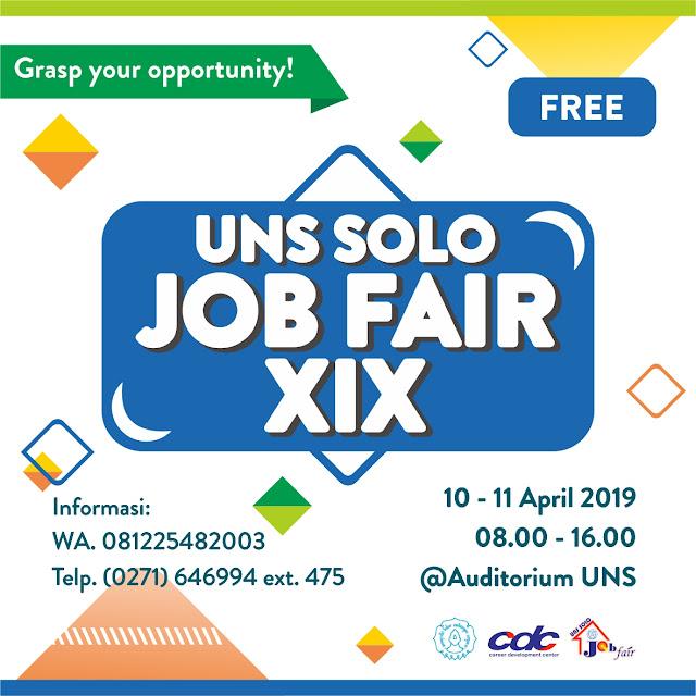 Job Fair Jawa Tengah GRATIS