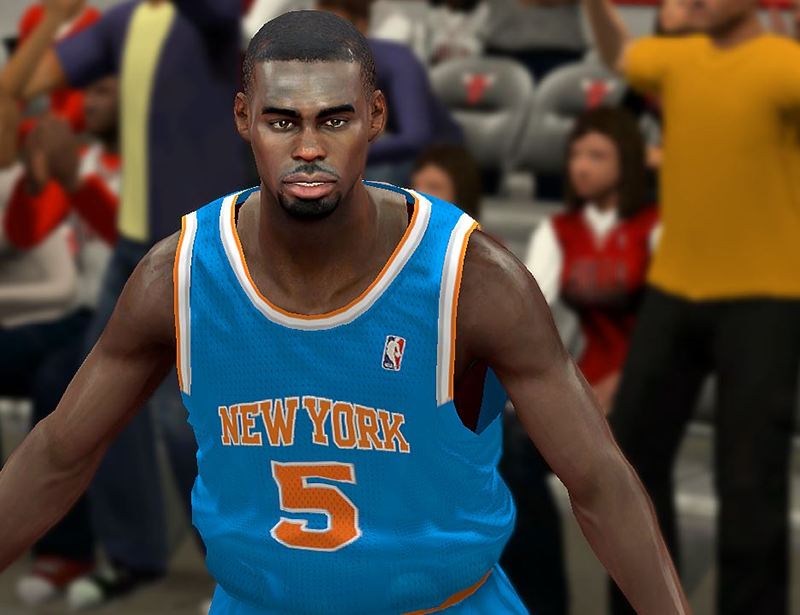 NBA 2K14 Tim Hardaway Jr Cyberface Patch