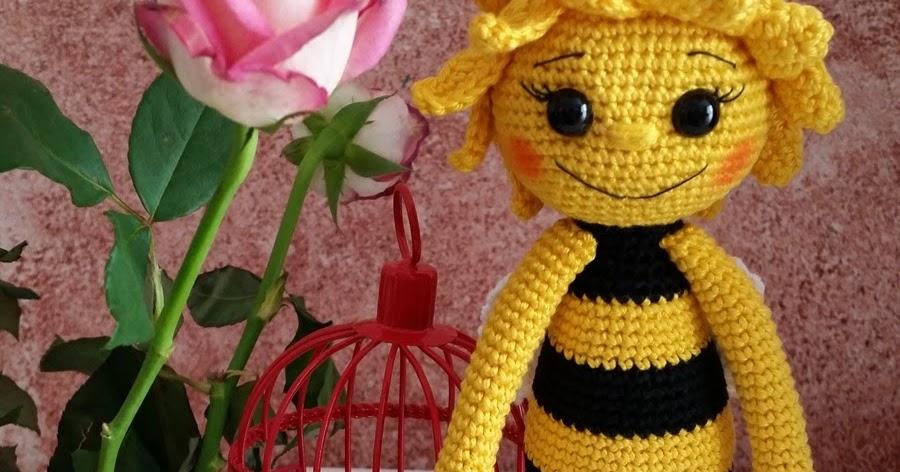 Handmade By ülkü Kundenauftrag Amigurumi Süsse Biene Bee