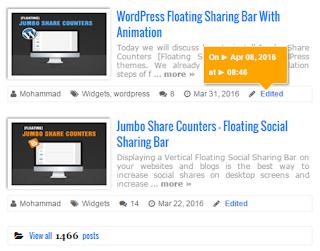 Cara Membuat Recent Post dengan Gambar Thumbnail di Blog