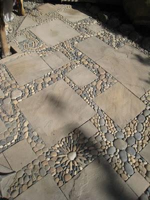 Aprenda a fazer mosaico de pedras para seu jardim (jardinagem)
