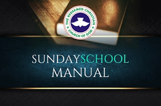 RCCG Sunday School Students Manual 12th November 2017 Lesson 11 — The Baptism Of The Holy Spirit
