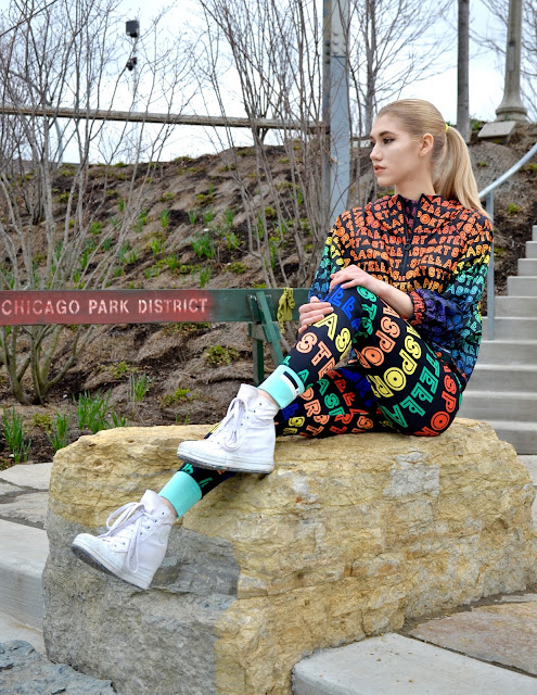 Stella Sport, Adidas, Rainbow, Outfit, Athleisure