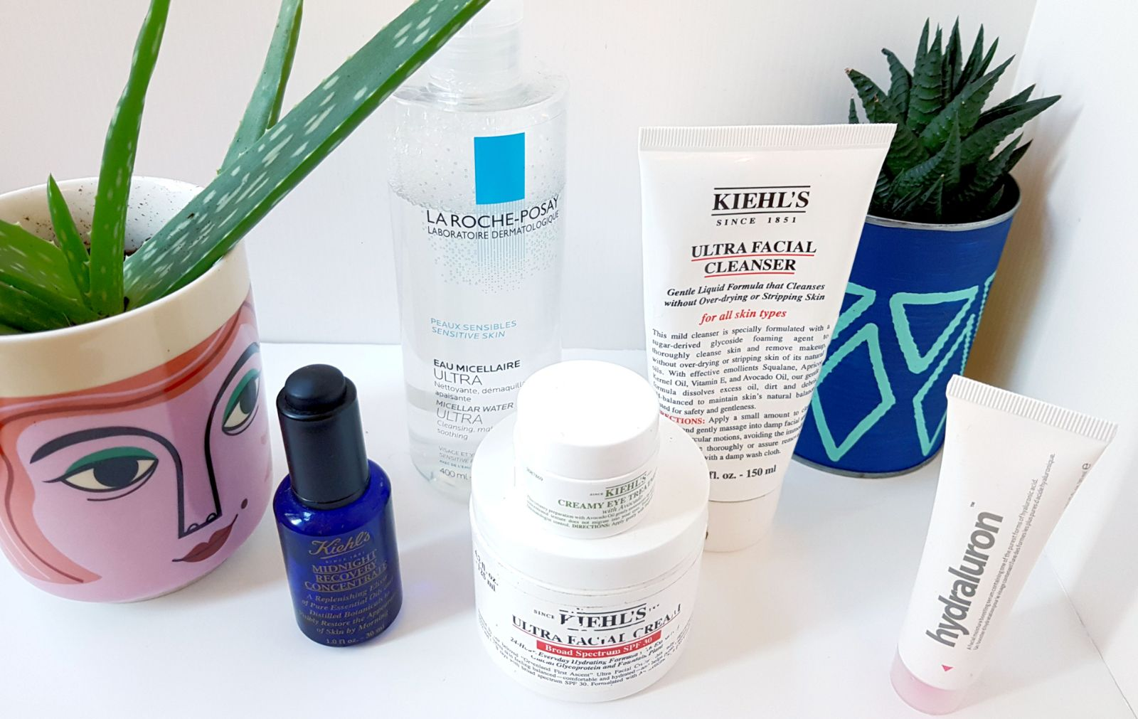 Sensitive Skin Care, Kiehl's La Roche Posay
