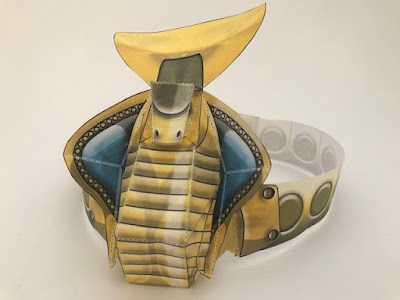Twinkl Egyptian headband to print