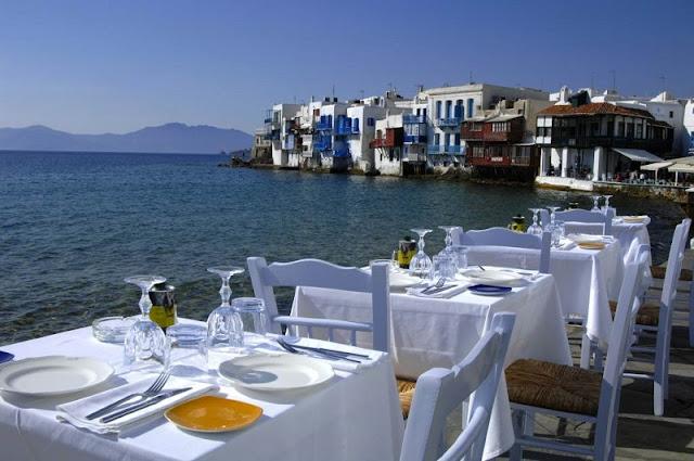 Restaurantes em Mykonos