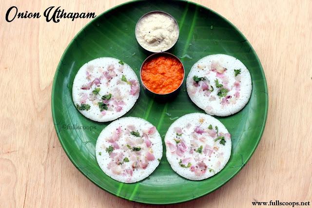 Onion Uthapam