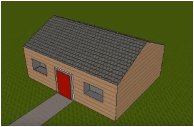 Kenapa atap rumah dibuat miring Harga atap Baja ringan