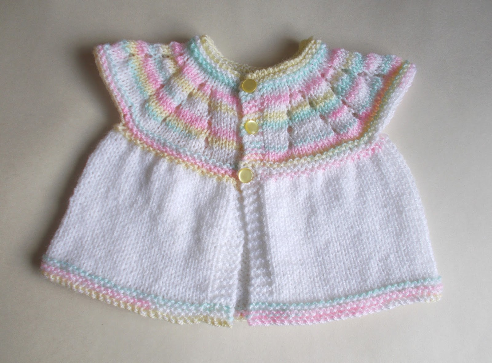 4cc73cd2f904 Marianna's Lazy Daisy Days: All-in-one Knitted Baby Tops