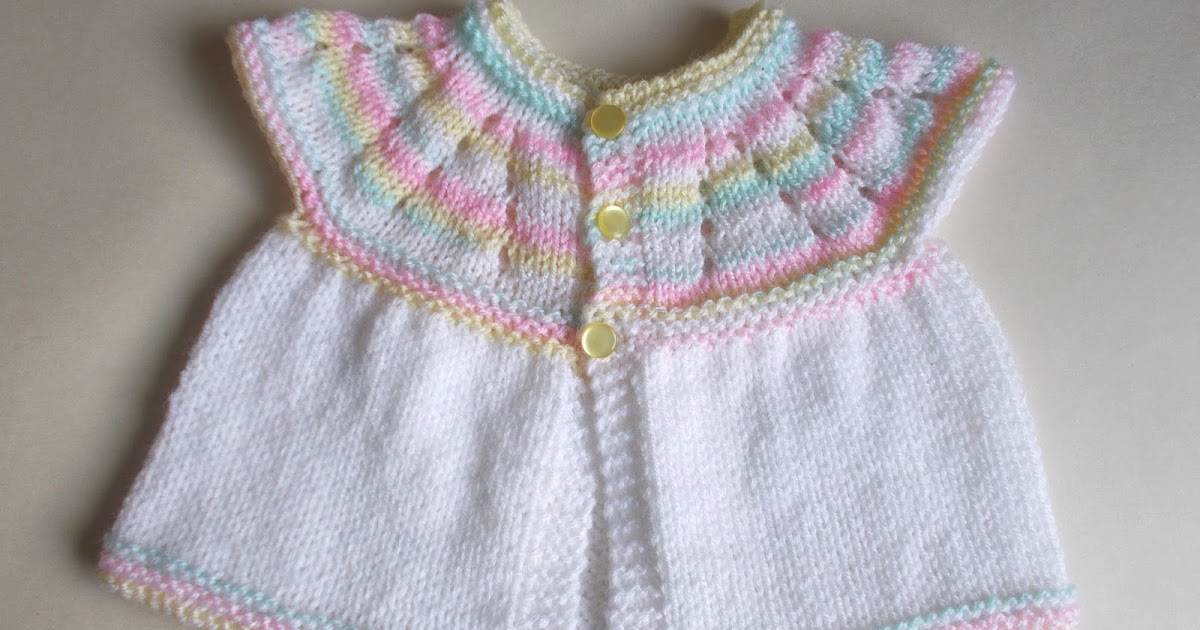 Mariannas Lazy Daisy Days All In One Knitted Baby Tops
