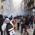 La Policía francesa usa gases lacrimógenos contra manifestantes