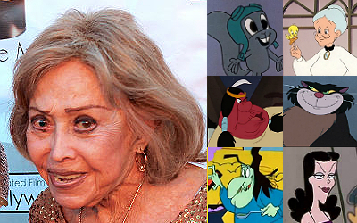 June Foray and the many characters she has played.