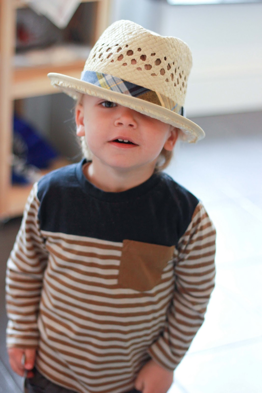 Pair a trendy plaid fedora or baby boy fedora with coordinating little boys' pants for a stylish outfit. Boys will stay warm and cozy, or cool and breezy with the right hat, from kids' fedora hats or plaid driver caps to match the fashion of the season.