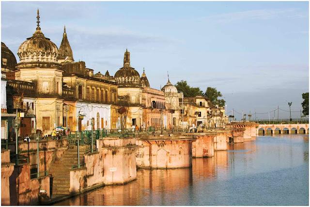 Ram Paidi ghat on Sarayu river
