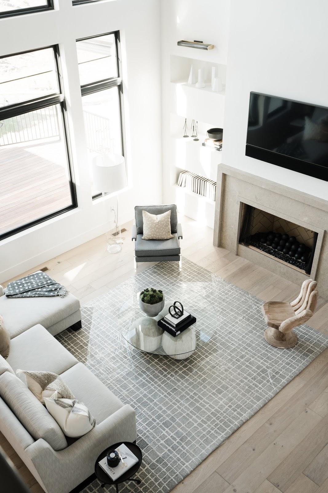 Modern Family Room Rug, Modern Family Room Furniture