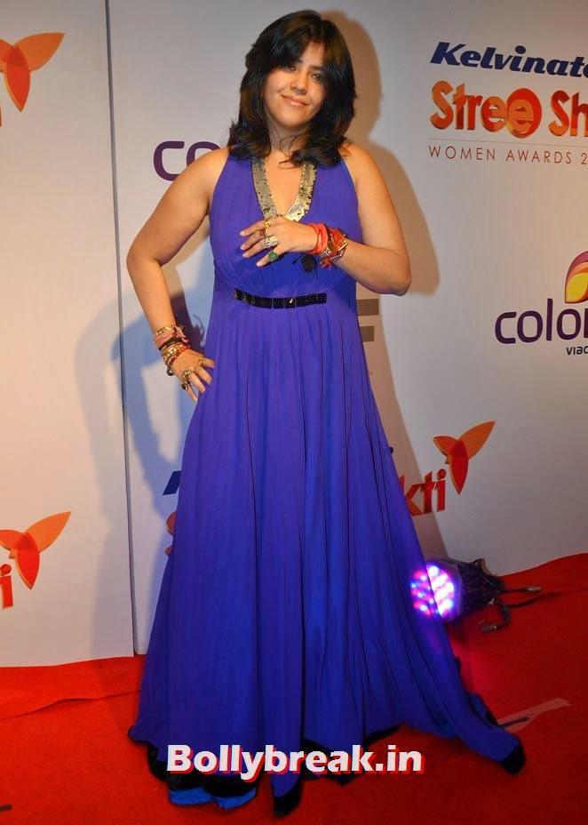 Ekta Kapoor, Madhuri, Alia, Kajol at Stree Shakti awards