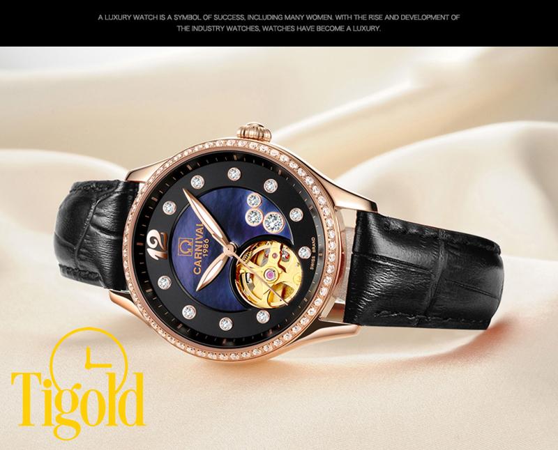 bán đồng hồ đeo tay nữ carnival