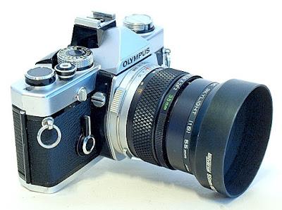 Olympus OM-1n, Zuiko Auto-W 35mm f/2