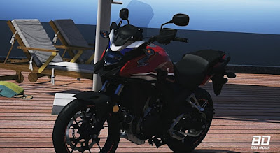 Download, mod, moto ,  HONDA, CB 500X, GTA 5 PC