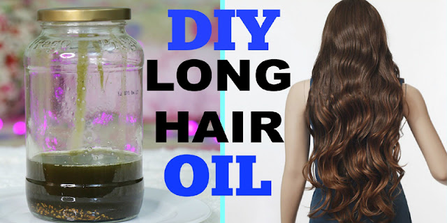DIY - Hair Growth Oil for Long Shiny Hair