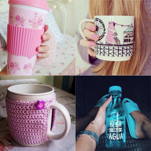 canecas e copos fofinhos