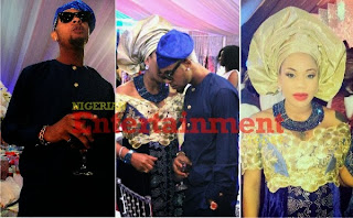 Photo: Toyin Lawani Grabs Her Drunk Lover's Ear, Cautions Him @ Peter Okoye's Wedding ›