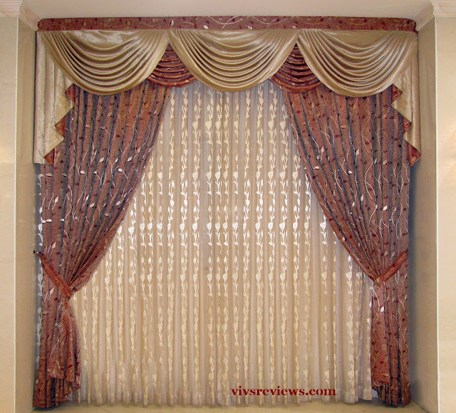 Home Decorating Fabric curtains