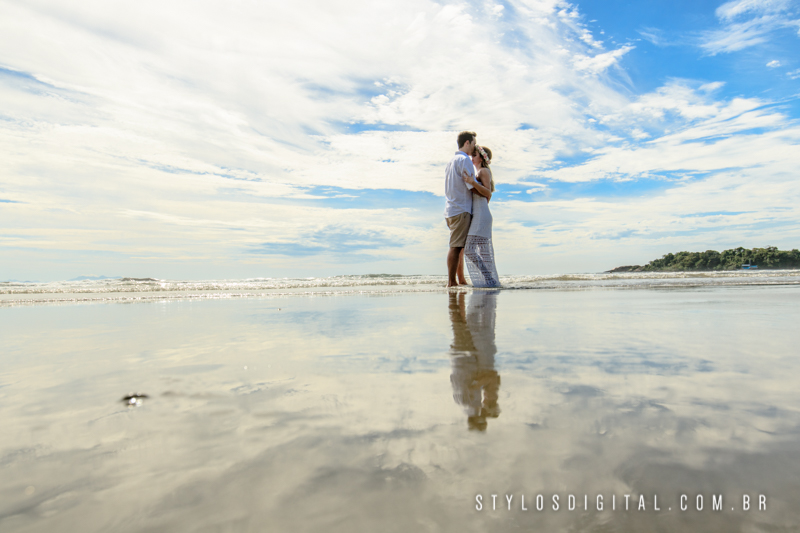 ensaio casamento praia