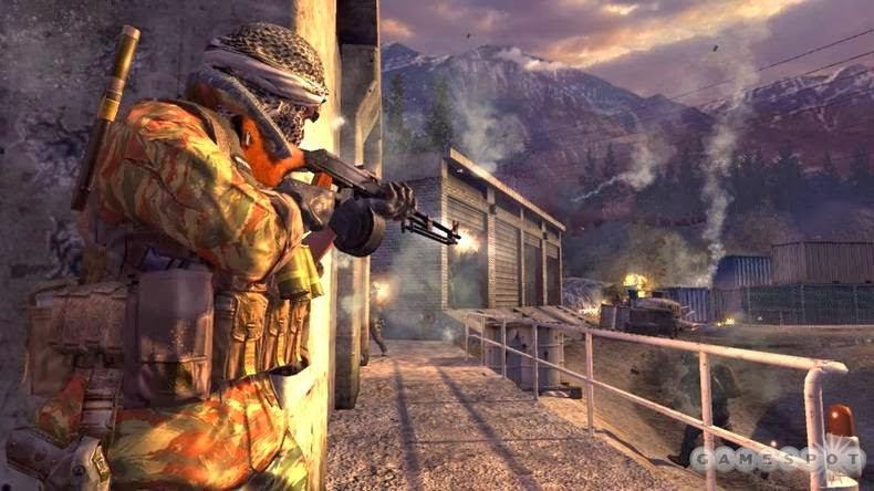 تحميل لعبةcall Of Duty 4 Modern Warfare مضغوطة بحجم 98 ميجا