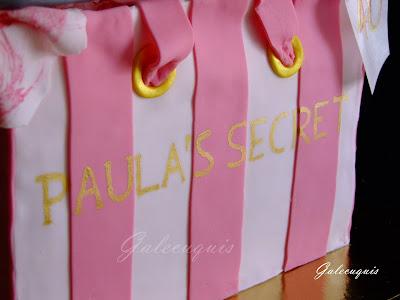 Tarta Bolsa Victoria´s secret