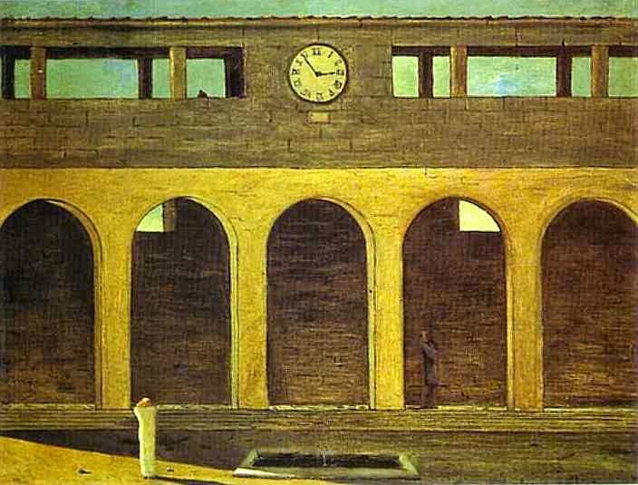 O Enigma da Hora - Giorgio de Chirico ~ Representante da pintura metafísica