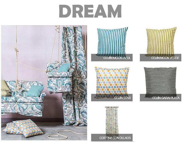 Primera colección textil de Leroy Merlin y Pepe Peñalver