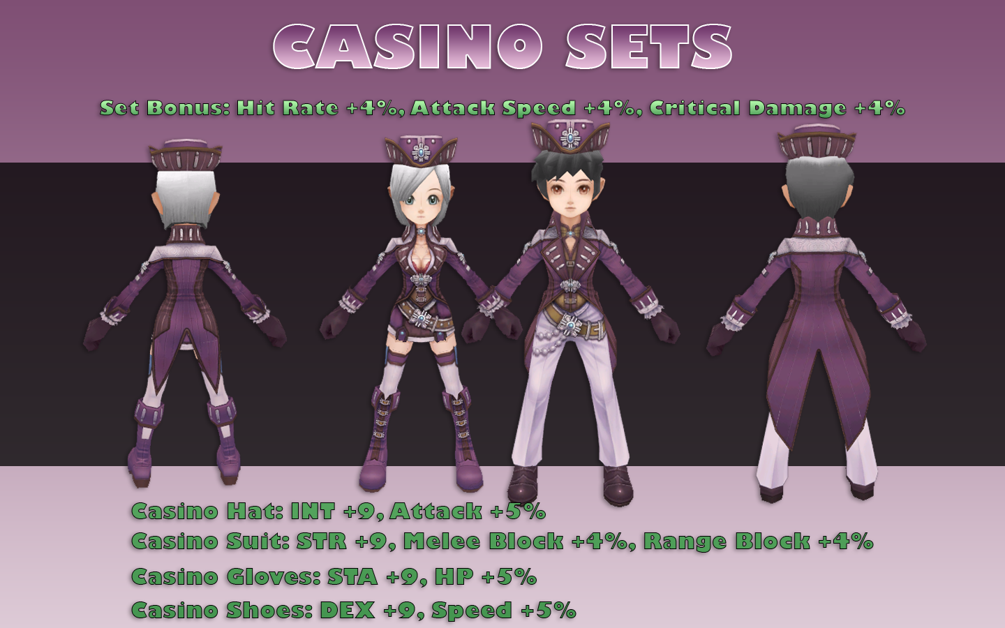 Flyff Casino Set