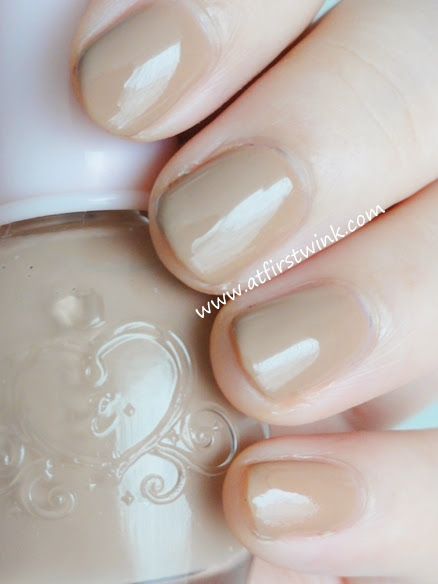 Etude House nail polish DBE101 - Lazy Beige