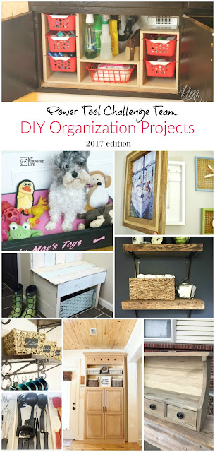 A ton of fantastic DIY organizing projects that you can build yourself.