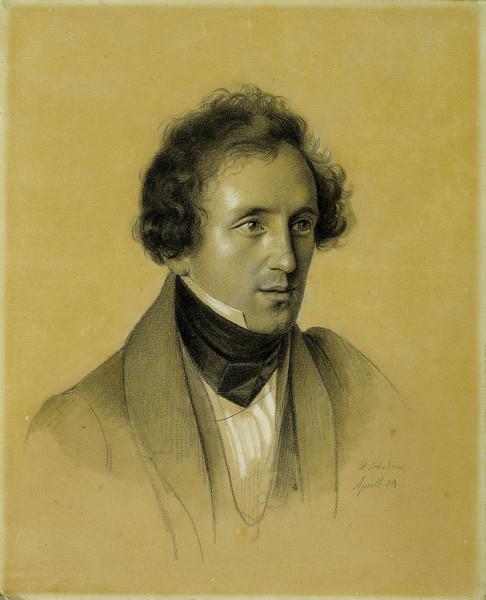 Felix Mendelssohn Bartholdy, 1834