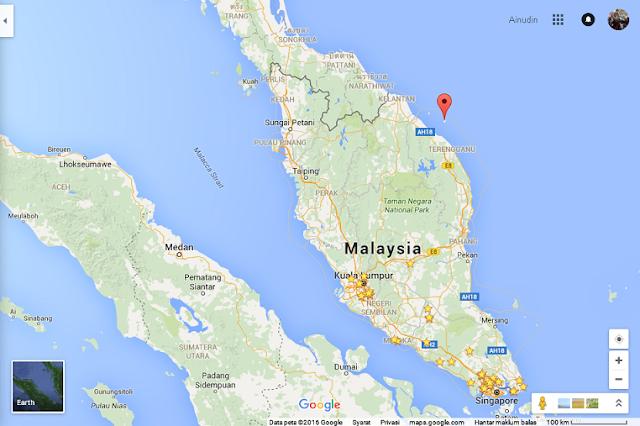 Redang Island at Terengganu, Malaysia.