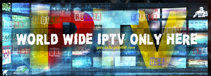 Free Urls  IPTV M3U Links 30.09.2018