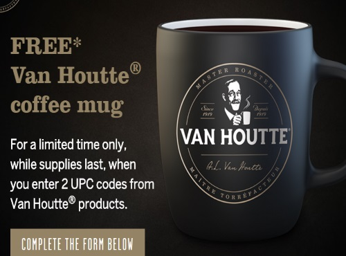 Van Houtte Free Coffee Mugs