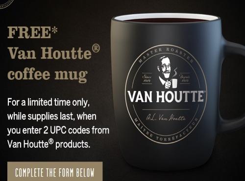 Van Houtte Free Coffee Mugs