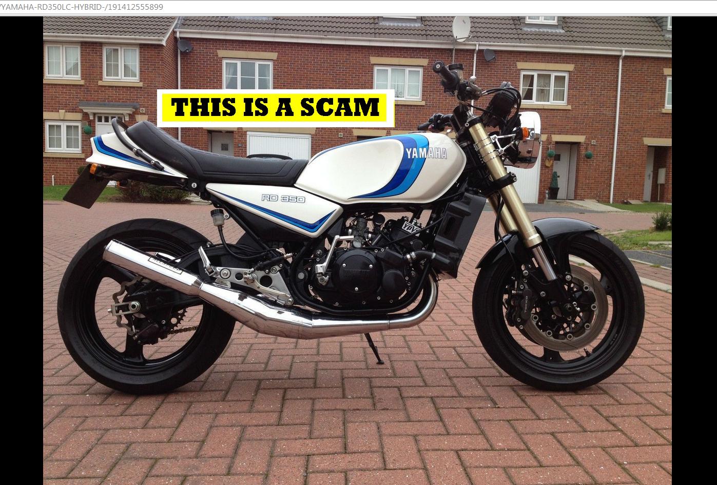 Jack Buster Jack Ebay Scam Yamaha Rd350lc Hybrid Motorbike Ugj954w Fraud Ugj 954w Ebay Motors Dealer Hack 13 Nov 14