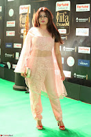 Nidhi Subbaiah Glamorous Pics in Transparent Peachy Gown at IIFA Utsavam Awards 2017  HD Exclusive Pics 33.JPG