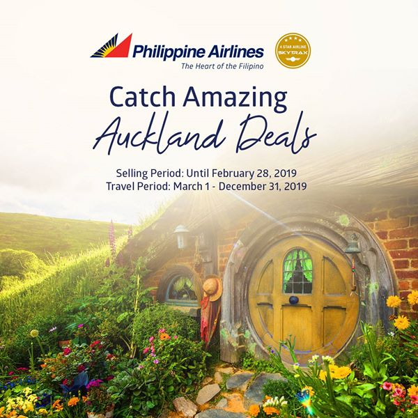 PHILIPPINE AIRLINES Seat Sales Promos March 2019