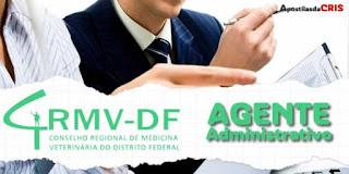 apostila concurso crmv df agente administrativo