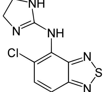 Tizanidine structure