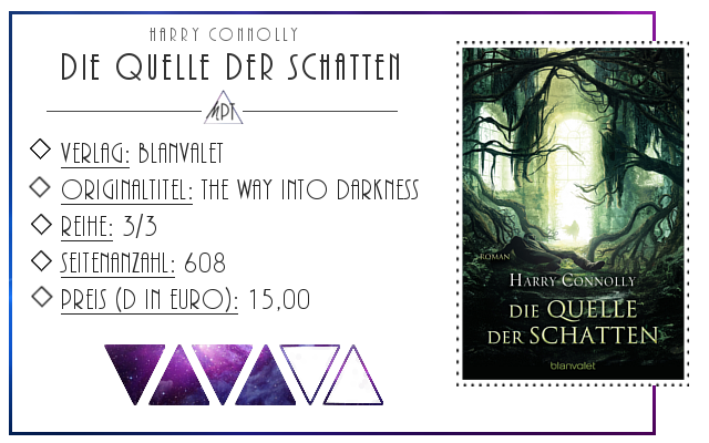 [Rezension] Die Quelle der Schatten - Harry Connolly