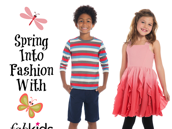 Spring into Fashion with FabKids