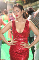 Parul Yadav in Sleeveless Deep Neck Red Gown at IIFA Utsavam Awards March 2017 059.JPG